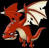 Soaring Red Wyvern